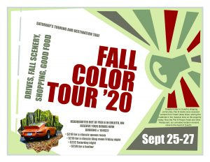 Fall Color Tour Canceled for 2020 @ Pier B