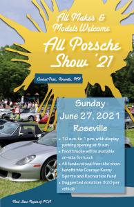 All Porsche Show 2021 @ Roseville Central Park
