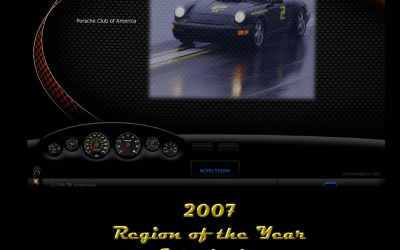 Nord Stern History Post 29 – PCA Region of the Year 2008